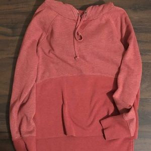 Red Abercrombie Hoodie